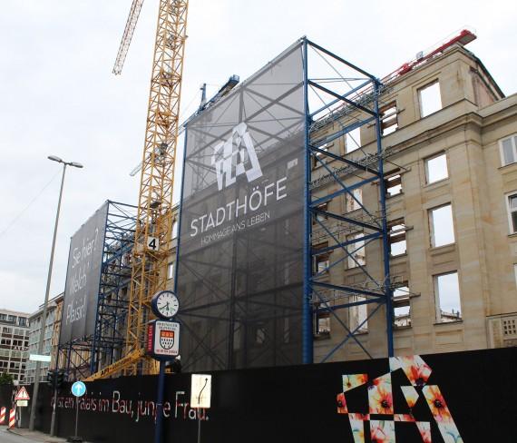 Werbebanner XXL in Hamburg