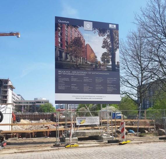 Bauschildmietsystem Hamburg